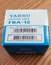 Yaesu part # Fba-12 Aax6 Gray Battery Case