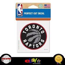 (HCW) Toronto Raptors Perfect Cut Colour 4x4 NBA Licensed Decal Sticker