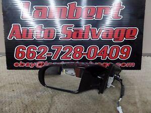 09-14 NISSAN MAXIMA LEFT DRIVER  SIDE POWER DOOR MIRROR 3 WIRE BLACK OEM