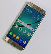 Samsung Galaxy S6 SM-G925F 64GB ORO Edge Sbloccato rotto Screen Works 292