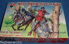 Redbox 72056 scozzese CAVALLERIA PESANTE guerra dei Roses SCALA 1:72