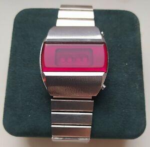 Elektronika 1 3051 B6-03 PULSAR TERMINATOR First Soviet Digital LED RED Watch