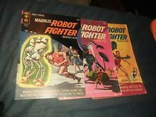Magnus Robot Fighter 9 14 28 Silver Age Gold Key Comics Lot Run Set Collection