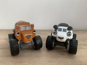 Blaze And The Monster Machines Die-cast Grizzly Bear & Panda Bear Vehicles