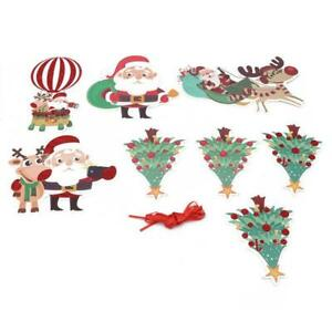Ornament Banner Bunting New Buntingdecor Bandera Party Christmas Party Decor S3