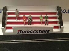 Escala 1:32 tribuna Ninco Scalextric Carrera Scx Bridgestone edificio