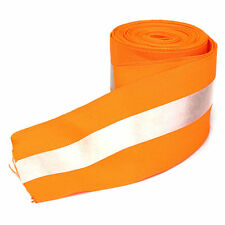 3M Silver Reflective Tape Safty Strip Sew On Lime Orange Fabric Vest Width 2""