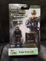 Mega Construx Black Series Tom Clancy Splinter Cell Sam Fisher Figure New