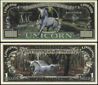 Unicorn Million Dollar Bill - Wholesale Pack of 1000 Bills