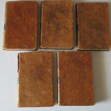 Voyage du jeune Anacharsis en Grèce Tomes  2,3,5,6,7. Edition 1789 Bure l'ainé.