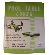 Pool Table Cover - Fits all 6 & 7 Foot Tables