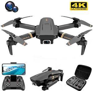 V4 Rc Drone 4k HD Wide Angle Dual Camera Wide Angle Camera 1080P WiFi FPV Drone