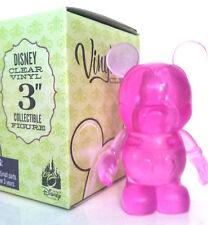 """DISNEY VINYLMATION 3/"""" CLEAR SERIES MAGENTA DARK PINK 2009 COLLECTIBLE TOY FIGURE"""