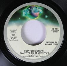 Soul 45 Pointer Sisters - I Want To Do It With You / American Music On Planet Re