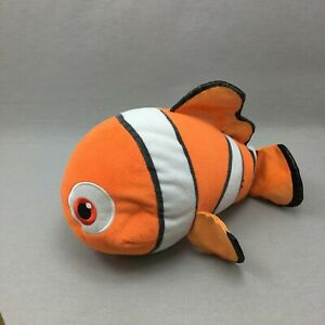 Ty Sparkle Nemo Plush Stuffed Animal Toy Disney Clown Fish