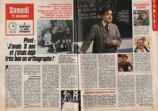 Coupure de presse Clipping 1987 Bernard Pivot la Dictée   (2 pages)