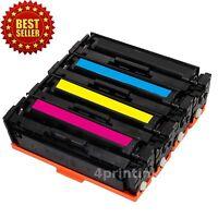 4pk Toner Cartridge For Hp CF500X-CF503X 202x Laserjet M254dw M280nw M281fdw