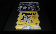 1960 World Series Pittsburgh Pirates Framed 16x20 Photo Display Bill Mazeroski