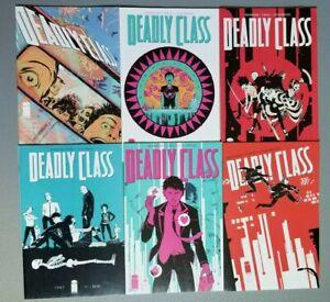 Deadly Class #1-6 (2013 Image Comics) 1 2 3 4 5 6 High Grade First Prints Set