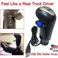 18 Speed SIM Gearshift Shifter Knob ATS ETS2 Simulator for Logitech PC WINDOWS