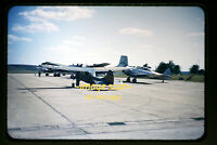1950's ANG Aircraft & Army Cessna Bird Dog usaf, Original Slide a4a