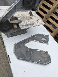 Spares or repair bandsaw TC010521A