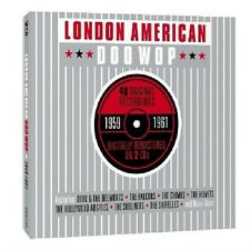 LONDON AMERICAN DOO WOP 1959-61 (CURTIS LEE, THE VELVETS,...) 2 CD NEU