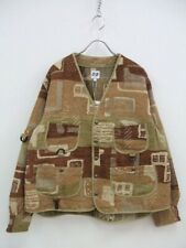 AiE WRD Jacket-Art Motif Rug Jac. Other jackets and coats mens Used 1-0819T♪