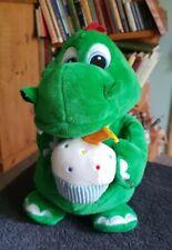 "Keel Toys Legoland Souvenir Green Dragon Cupcake Soft Plush Stuffed Animal 11"""