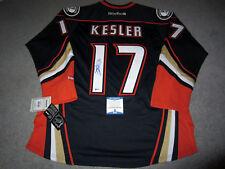 RYAN KESLER Anaheim Ducks SIGNED Autographed JERSEY w/ BAS COA Large