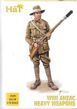 HAT WWI ANZAC HEAVY WEAPONS TEAM, Figures in 1/72  8190  ST