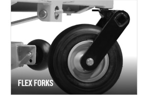 New Genuine OEM Hustler 603167 116281 Flex Fork Kit for Diesel Z mower