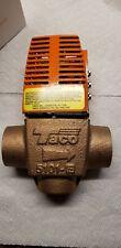 """3/4"""" Threaded 5101 Geothermal Valve. Taco zone valve. Boiler valve."""