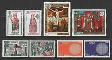 More details for andorra (french) 1970, 74, 75, 76 europa sets mnh. cat approx £130 as singles.