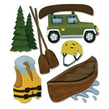 Canoe Trip Canoing Helmet Vest River Jeep Wilderness Hiking Jolee's 3D Sticker