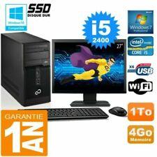 PC de bureau Fujitsu avec windows 7 pour 4 Go maximale de la ram