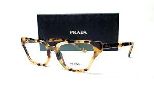 PRADA VPR 04X 7S0-1O1 Medium Havana Demo Lens Women's Eyeglasses 54mm