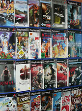 Playstation 2 ps2 Jeux (Games collection jeux collection Bundle) - même choisir