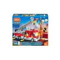 Mega Construx Fire Truck Rescue Building Construction Toy Playset 294 Pc