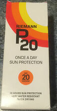 RIEMANN P20 WATER RESISTANT UVA SUN PROTECTION SPF20+ 200ML