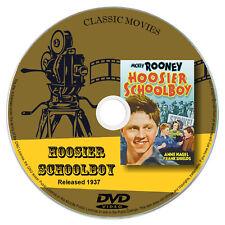 Hoosier Schoolboy (1937) - Mickey Rooney, Anne Nagel - Drama DVD