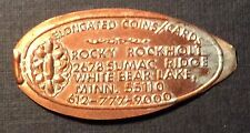 Elongated Cent Advertising Rocky Rockholt Elongated Coins/Cards White Bear Lake