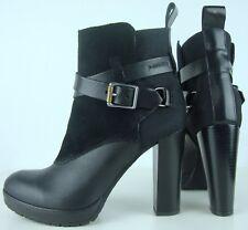 G-STAR RAW Ankle Boots Stiefelette Bootie Damen Leder Black Schuhe Gr.40 NEU