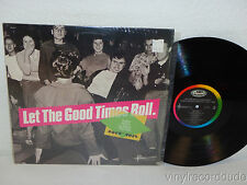 LET THE GOOD TIMES ROLL early rock classics 1952-1958 LP Fats Domino, Esquerita
