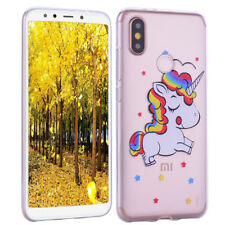 Rubber Silicone TPU Clear Case Phone Back Cover For Huawei P30 P Smart Xiaomi F1