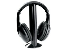 Naxa NE-922A 5 In 1 Wireless Headphones System +Microphone +FM Radio