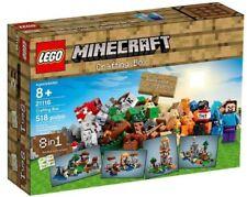 Lego Minecraft - Crafting Box  - 21116 - RARE ITEM - BNIB