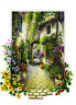 Heidi Puzzles - In The Small Flower Village 500 Piece Jigsaw Puzzle - 19 x 13.5