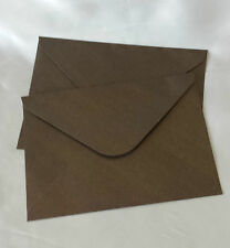 Envelope 13x18.5cm Pearl Coffee Brown for Wedding Invitations Card, Pocket fold