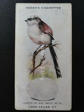 No.46 LONG TAILED TIT - British Birds & Their Eggs by Ogdens Ltd 1939